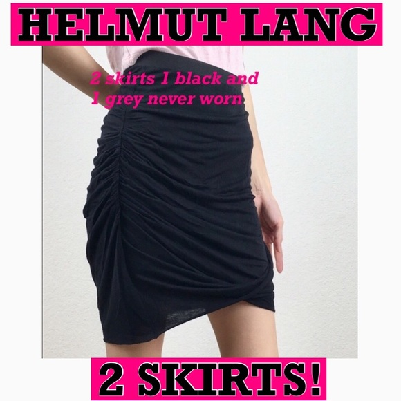 Helmut Lang Dresses & Skirts - 2 HELMUT LANG never worn , price is FIRM😀